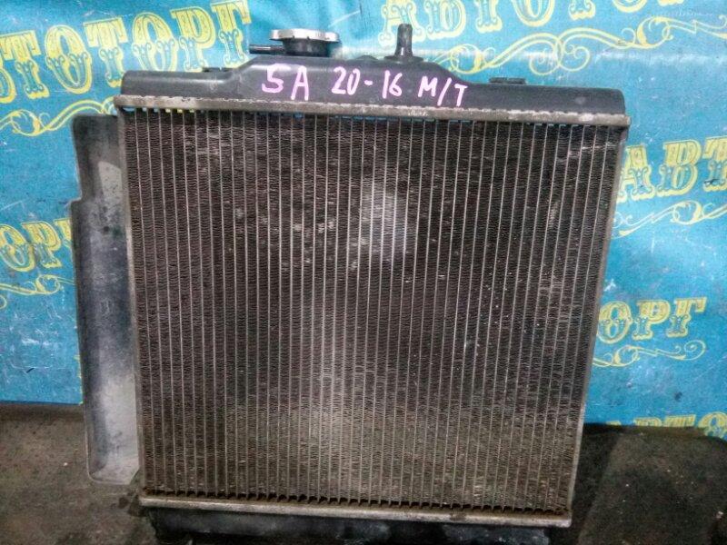 Радиатор основной Kia Picanto SA G4HE 2007