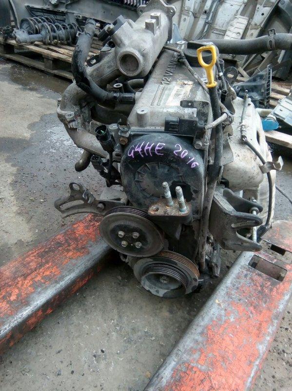 Двигатель Kia Picanto SA G4HE 2007