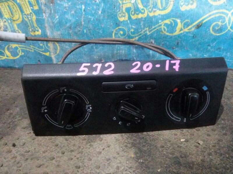 Блок управления климат-контролем Skoda Fabia 5J2 CGGB 2012
