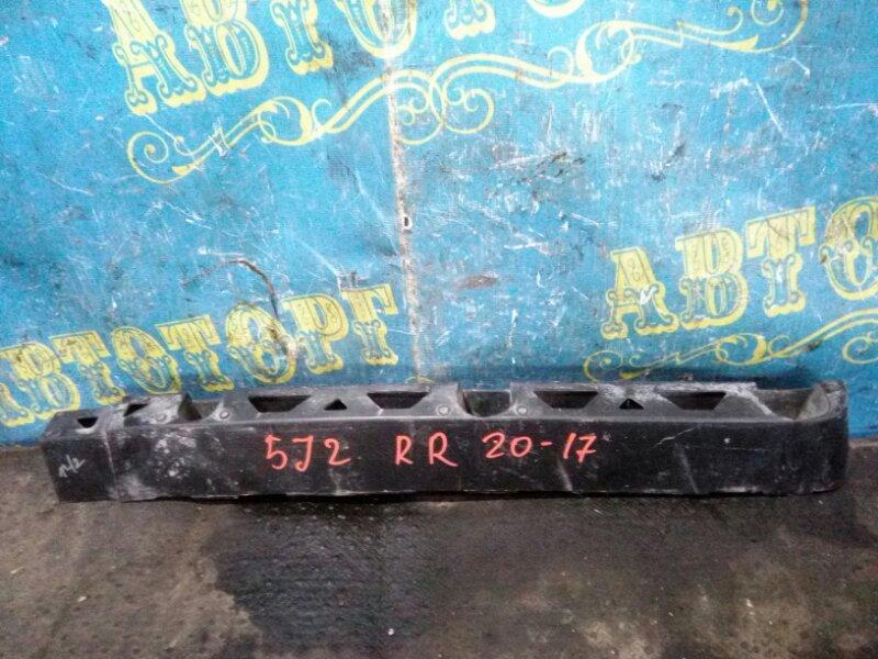 Крепление бампера Skoda Fabia 5J2 CGGB 2012 заднее правое