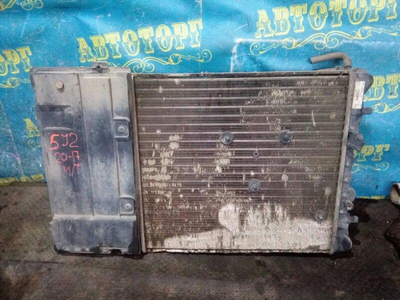 Радиатор основной Skoda Fabia 5J2 CGGB 2012