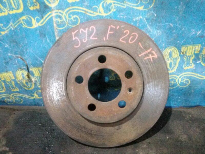 Тормозной диск Skoda Fabia 5J2 CGGB 2012 передний