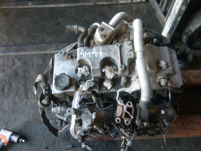 Двигатель Mitsubishi Pajero V83W 4M41 2010