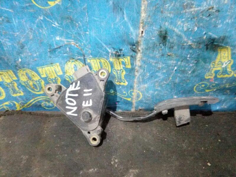 Педаль подачи топлива Nissan Note E11 HR15