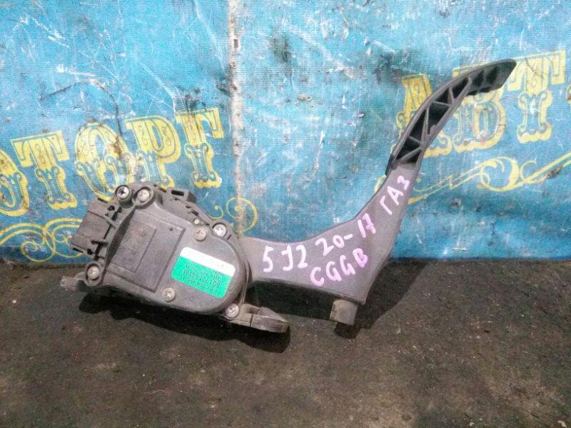 Педаль подачи топлива Skoda Fabia 5J2 CGGB 2012