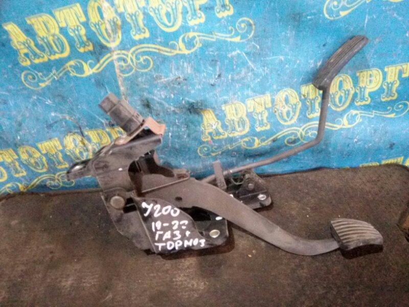Педаль подачи топлива Chevrolet Lacetti J200 F16D3 2012