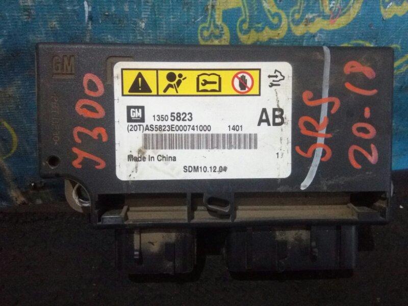 Блок управления airbag Chevrolet Cruze J300 F16D3 2011