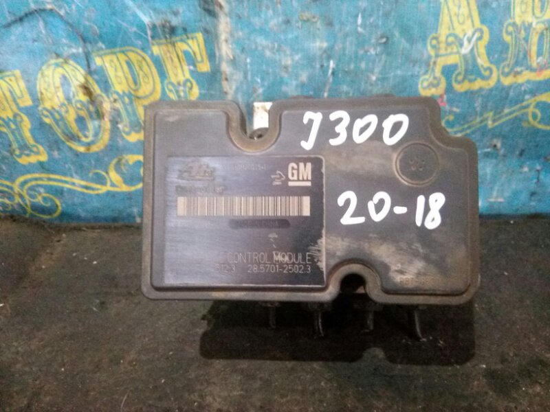 Блок abs Chevrolet Cruze J300 F16D3 2011