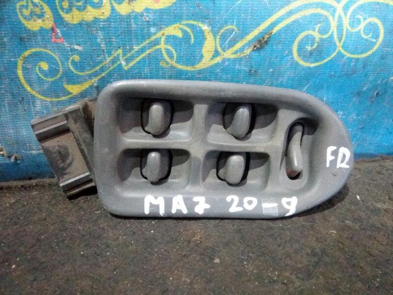 Блок упр. стеклоподьемниками Honda Domani MA7 D15B 1996 передний правый