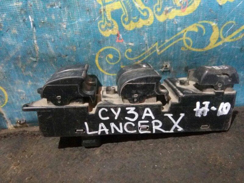 Блок упр. стеклоподьемниками Mitsubishi Lancer X CY4A 4B10 2008 передний левый