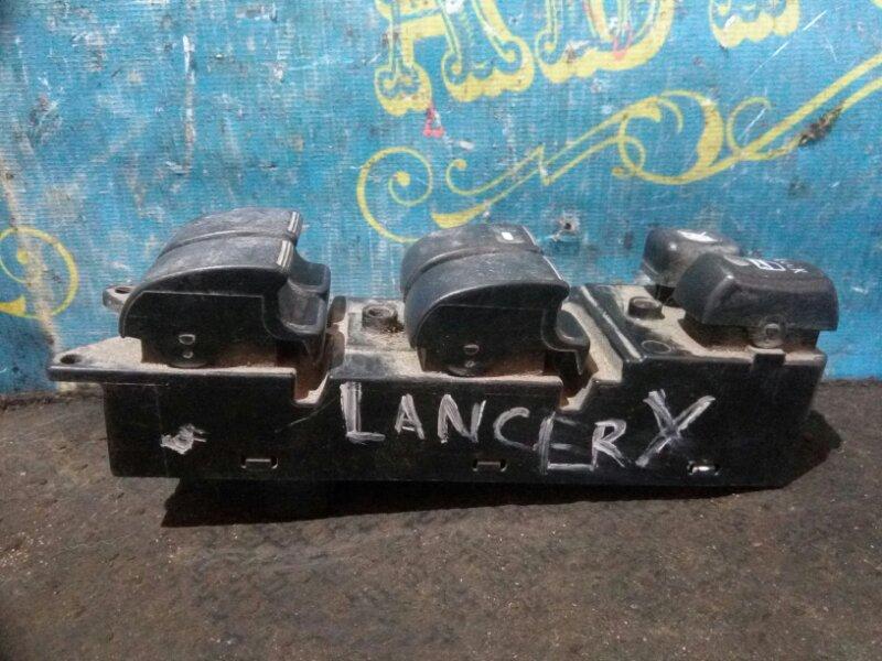 Блок упр. стеклоподьемниками Mitsubishi Lancer X CY2A 4A91 2008 передний левый