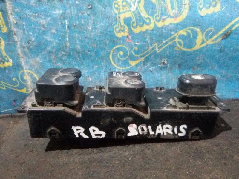 Блок упр. стеклоподьемниками Hyundai Solaris RB G4FC 2012 передний левый