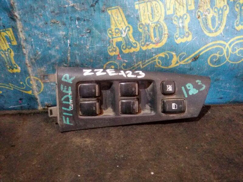 Блок упр. стеклоподьемниками Toyota Corolla Fielder ZZE 123 передний правый