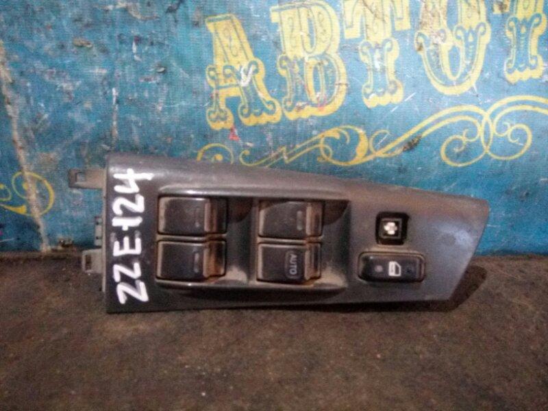 Блок упр. стеклоподьемниками Toyota Corolla Fielder ZZE 124 передний правый