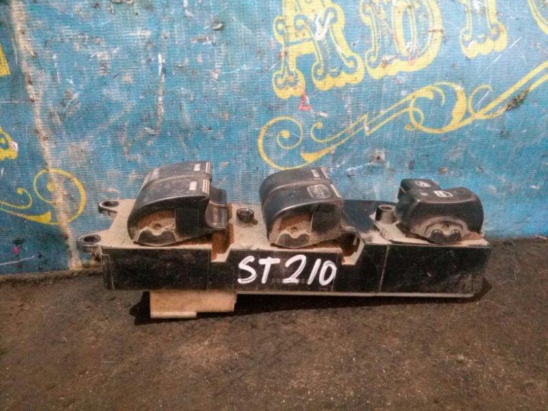 Блок упр. стеклоподьемниками Toyota Caldina ST210 передний правый