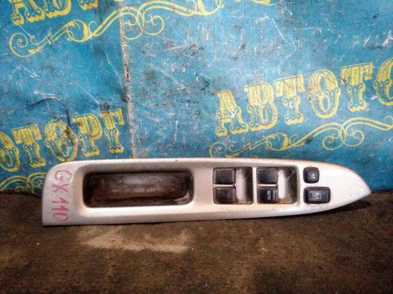 Блок упр. стеклоподьемниками Toyota Mark Ii GX110 передний правый
