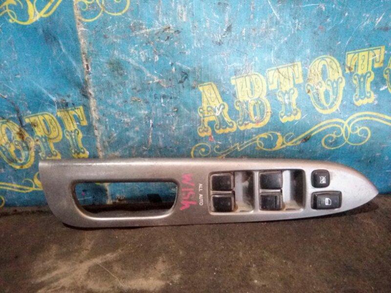 Блок упр. стеклоподьемниками Toyota Wish ZNE10 передний правый