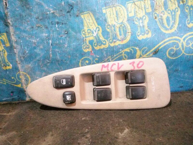 Блок упр. стеклоподьемниками Toyota Windom MCV30 передний правый
