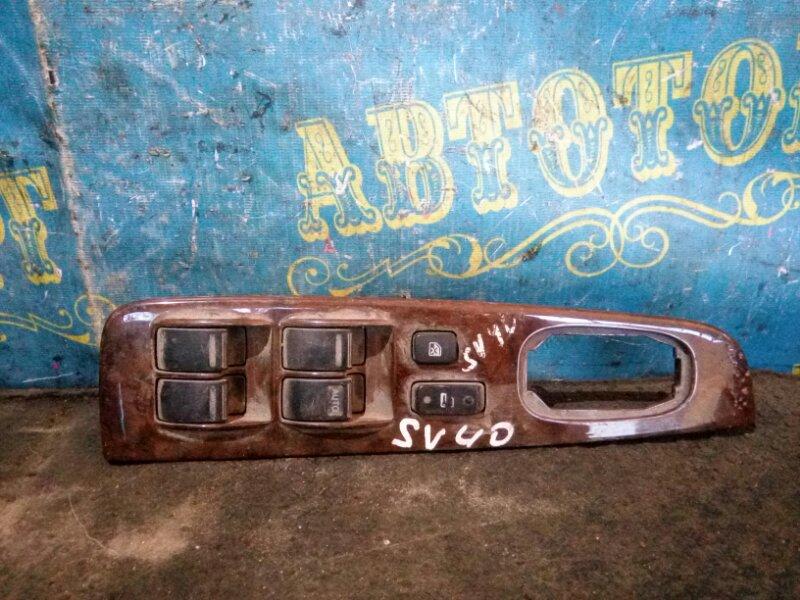 Блок упр. стеклоподьемниками Toyota Vista SV40 передний правый