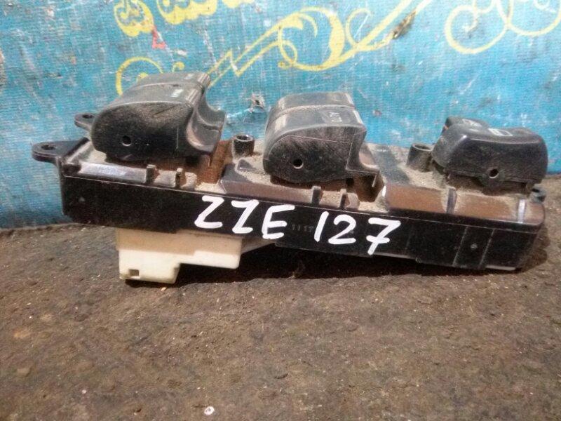 Блок упр. стеклоподьемниками Toyota Will ZZE127 передний правый