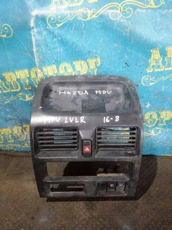 Консоль магнитофона Mazda Mpv LVLR WL 1997
