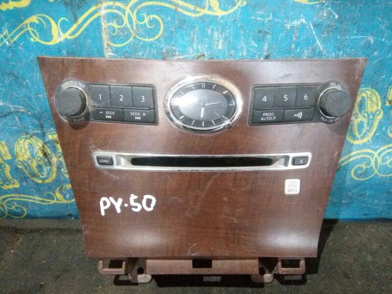 Консоль магнитофона Nissan Fuga PY50