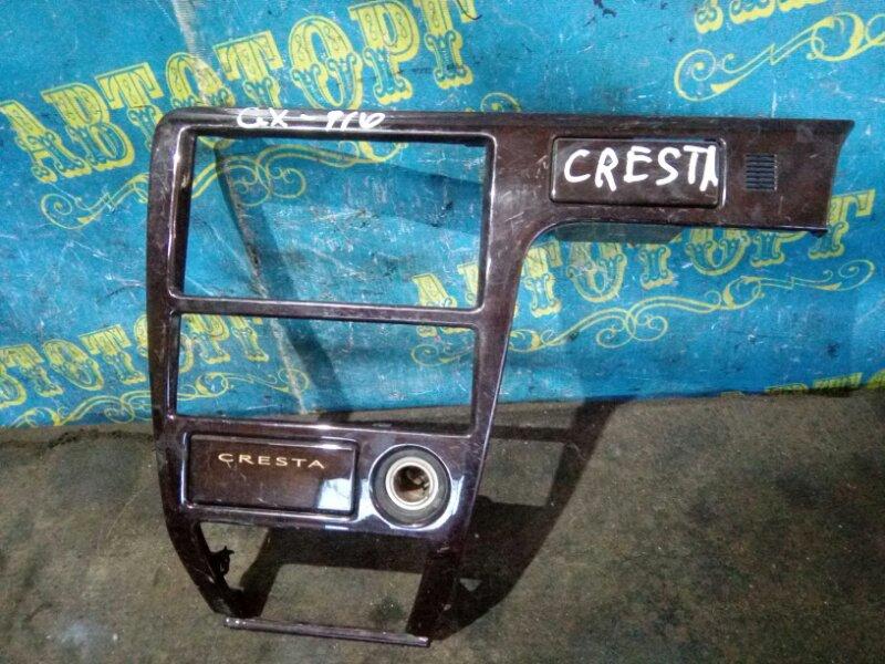Консоль магнитофона Toyota Cresta GX100