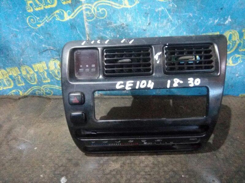 Консоль магнитофона Toyota Sprinter CE104 2C 2000
