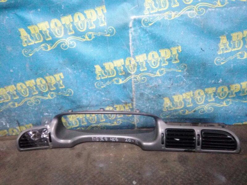Консоль магнитофона Peugeot 406 8B EW7J4 2004