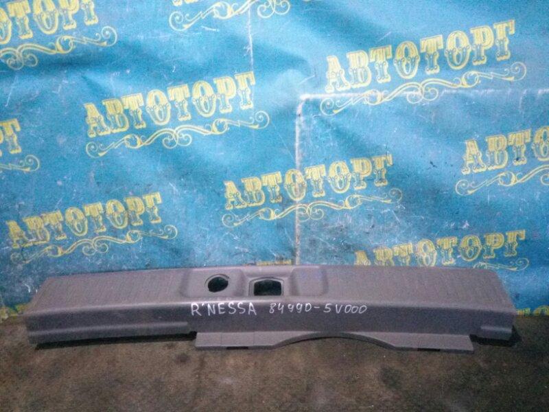 Накладка замка багажника Nissan Rnessa N30