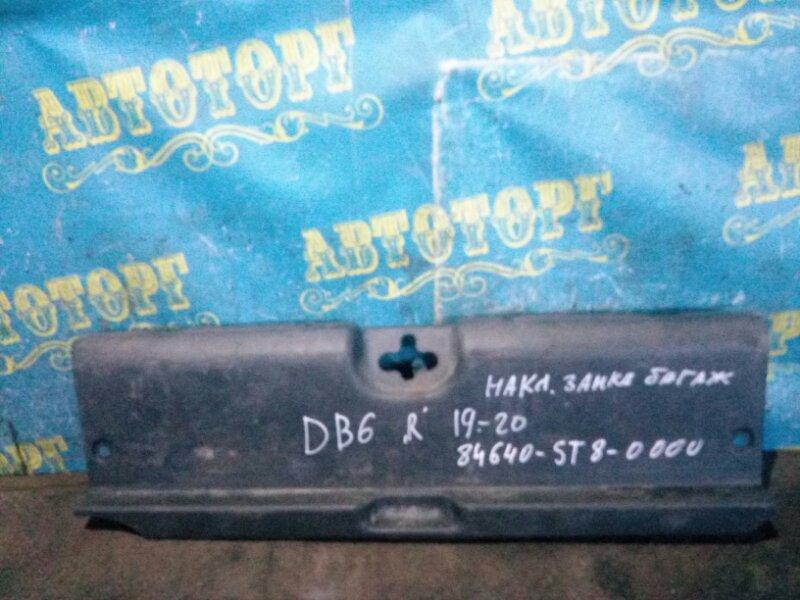 Накладка замка багажника Honda Integra DB6 ZC 1999