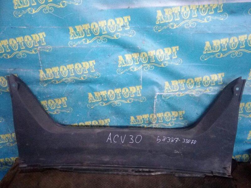 Накладка замка багажника Toyota Camry ACV30