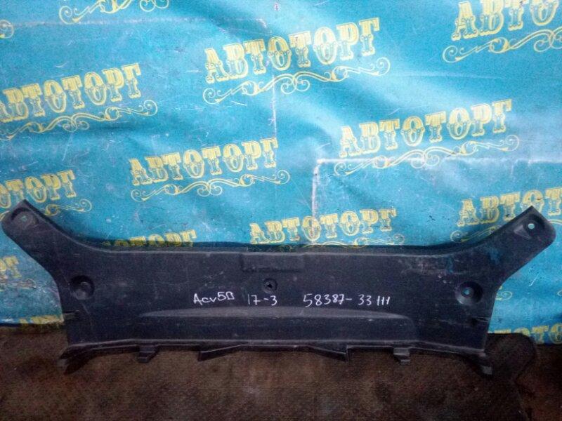 Накладка замка багажника Toyota Camry ACV51 1AZ 2012