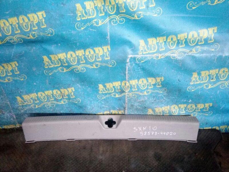 Накладка замка багажника Toyota Nadia SXN10