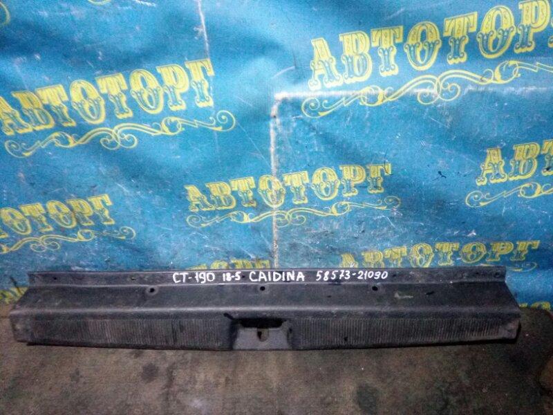 Накладка замка багажника Toyota Caldina CT190 2C 1993