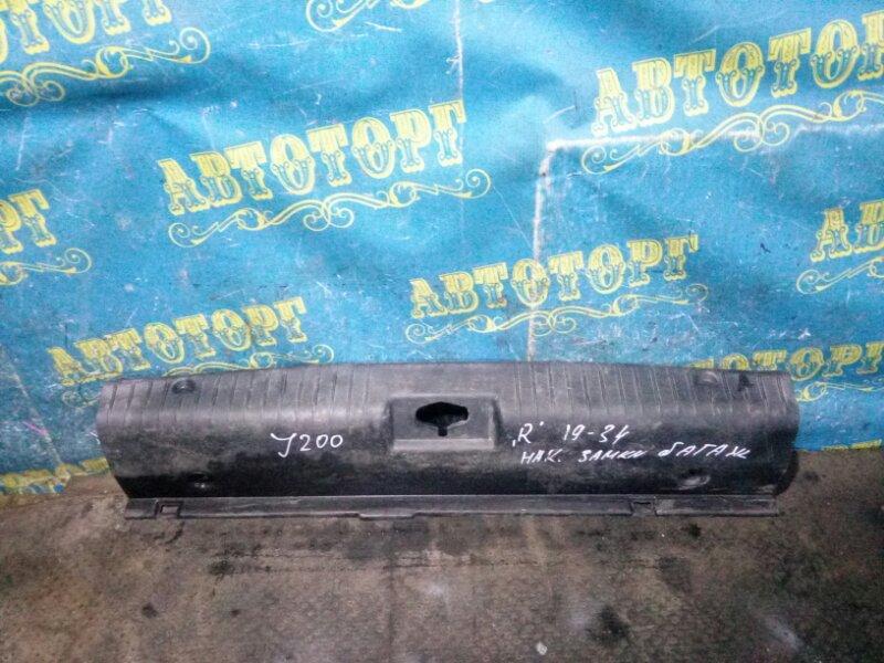 Накладка замка багажника Chevrolet Lacetti J200 F16D3 2007