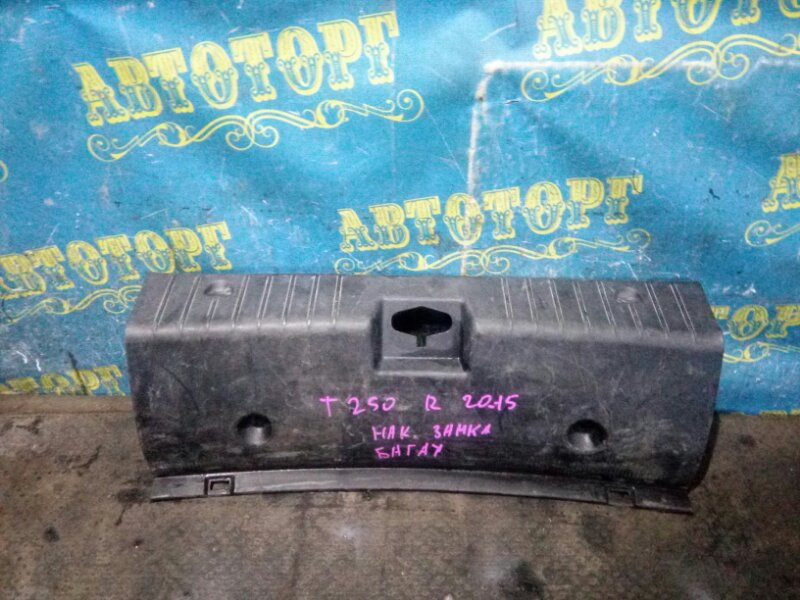 Накладка замка багажника Chevrolet Aveo T250 F14D4 2008