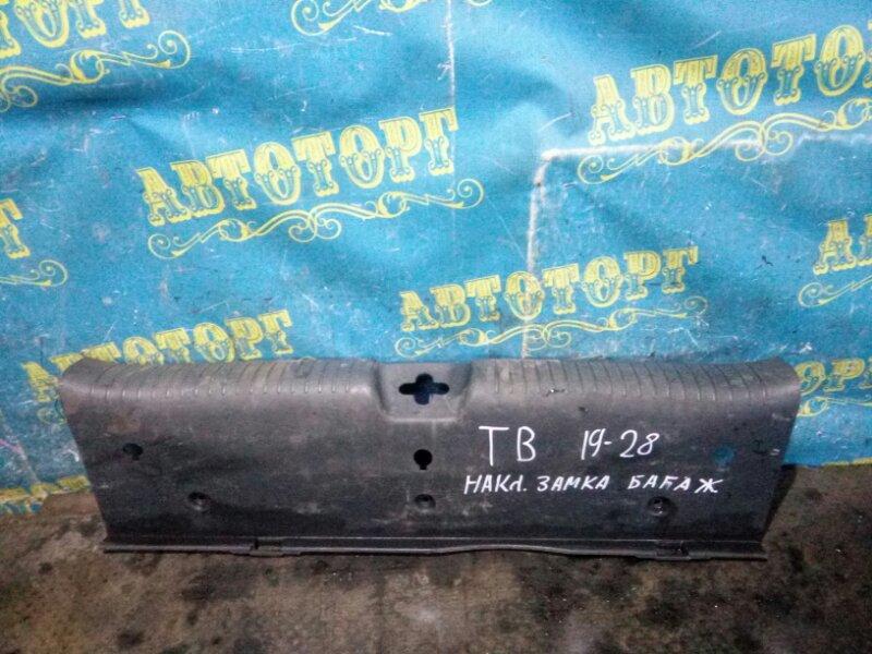 Накладка замка багажника Hyundai Getz TB G4ED 2004