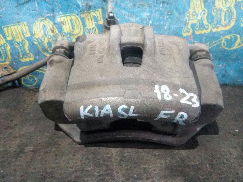 Суппорт Kia Sportage SL D4HA 2011 передний правый
