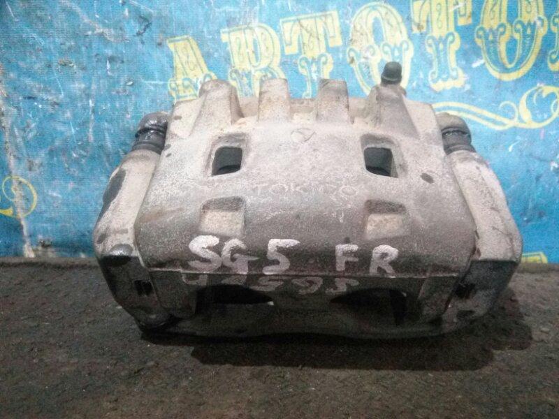 Суппорт Subaru Forester SG5 передний правый