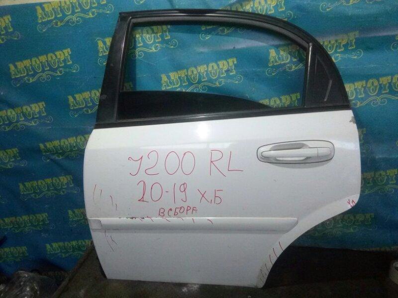 Дверь Chevrolet Lacetti J200 F16D3 2008 задняя левая
