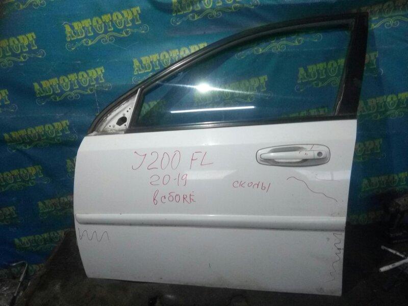 Дверь Chevrolet Lacetti J200 F16D3 2008 передняя левая