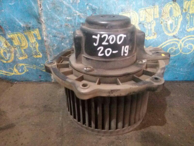 Мотор печки Chevrolet Lacetti J200 F16D3 2008 передний
