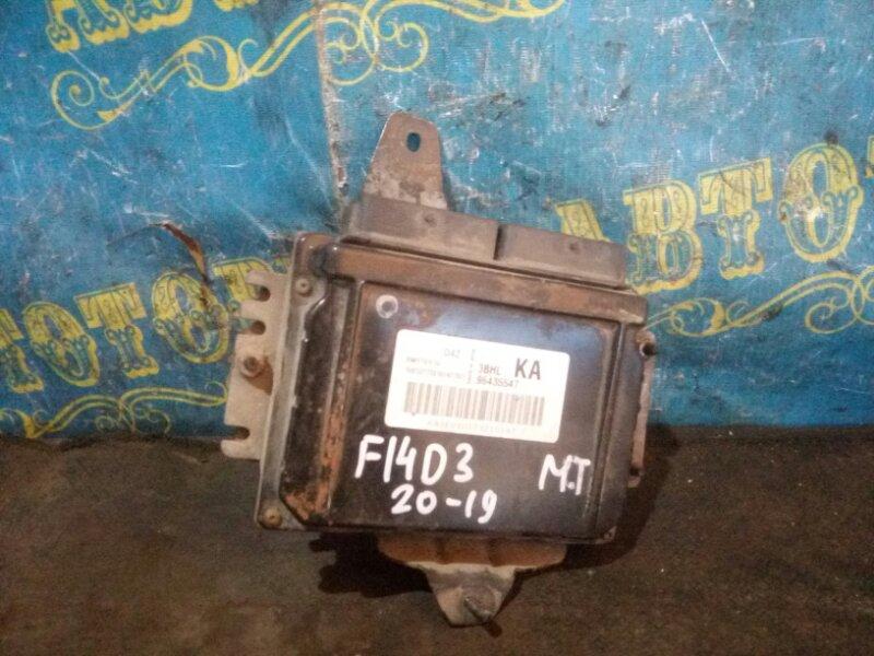 Блок управления двс Chevrolet Lacetti J200 F14D3 2007