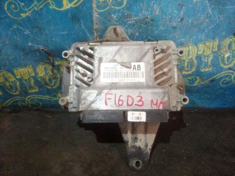 Блок управления двс Daewoo Nexia KLETN F16D3