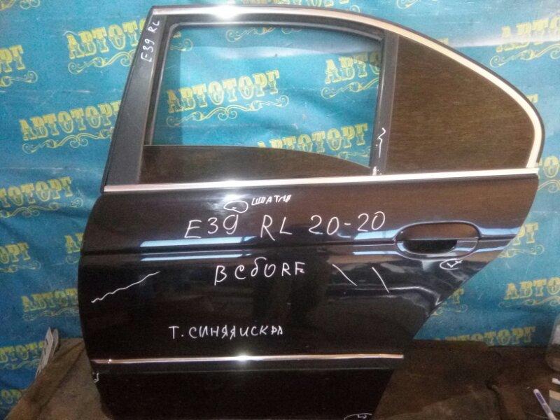 Дверь Bmw 5 Series E39 M52B25 1998 задняя левая