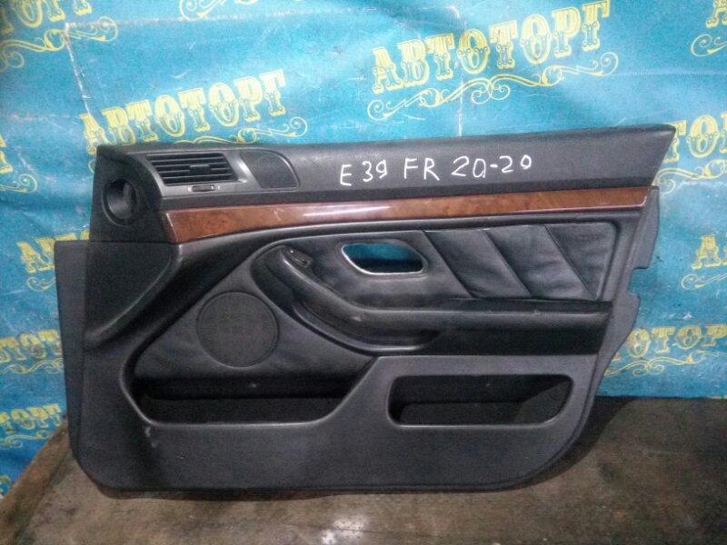 Обшивка дверей Bmw 5 Series E39 M52B25 1998 передняя правая