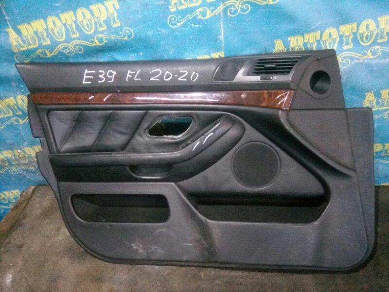 Обшивка дверей Bmw 5 Series E39 M52B25 1998 передняя левая