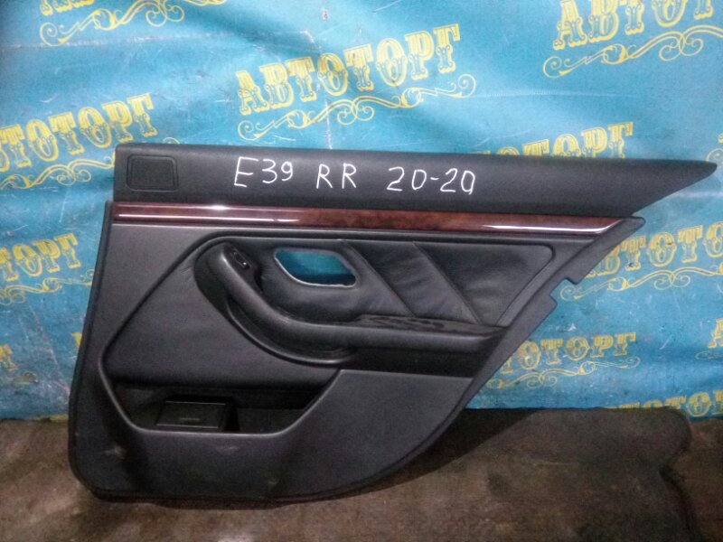 Обшивка дверей Bmw 5 Series E39 M52B25 1998 задняя правая
