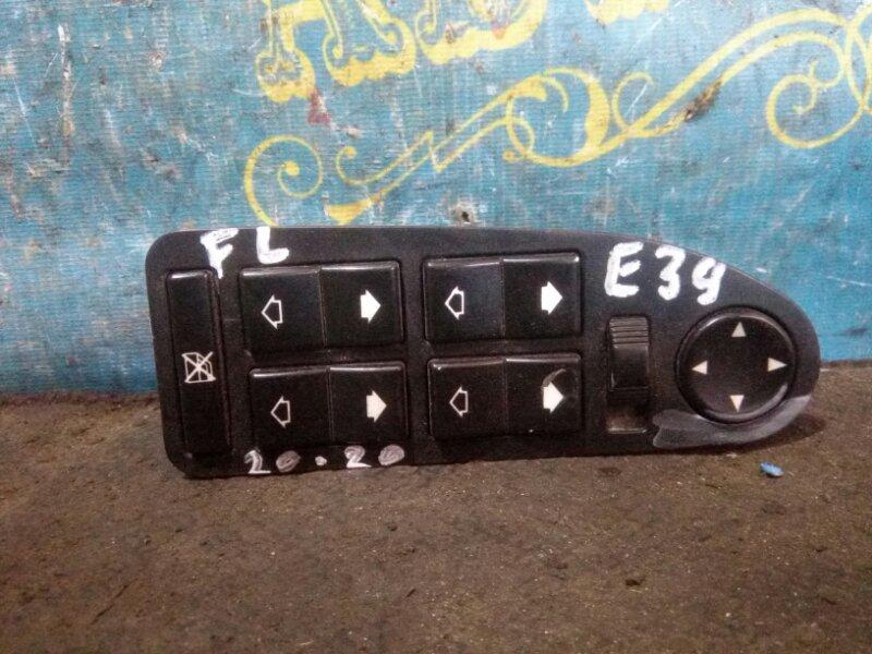 Блок упр. стеклоподьемниками Bmw 5 Series E39 M52B25 1998 передний левый